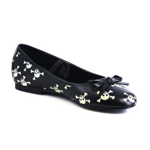 Ellie - Childrens 013-skull Flats