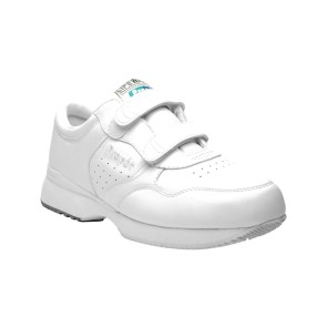 Propet - Mens Lifewalker Strap Leather Sneakers