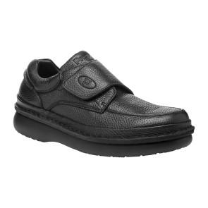 Propet - Mens Scandia Strap Leather Flats