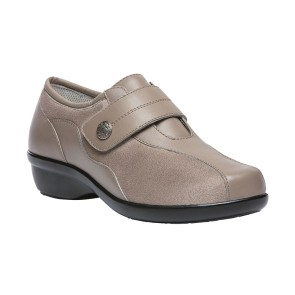 Propet - Womens Diana Strap Leather Flats