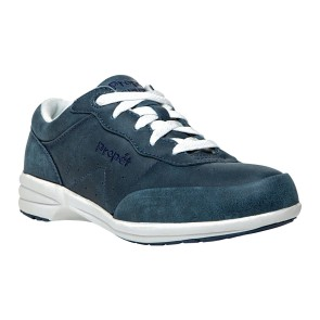Propet - Womens Washable Walker Leather Sneakers