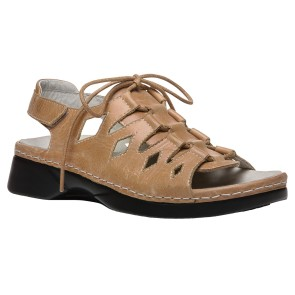 Propet - Womens Ghillie Walker Leather Sandals