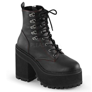 Demonia - Womens ASSAULT-100 Vegan Boots
