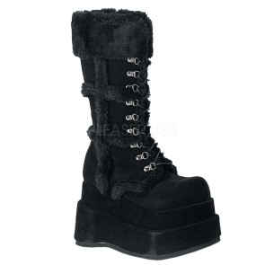 Demonia - Womens BEAR-202 Vegan Boots