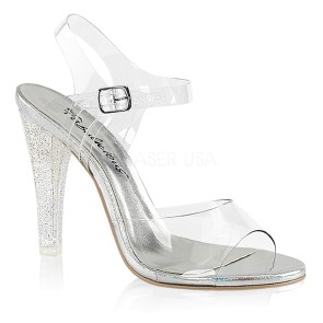 Fabulicious - Womens CLEARLY-408MG Shoes