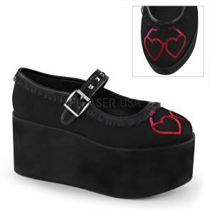 Demonia - Womens CLICK-02-1 Platform Sandals & Shoes