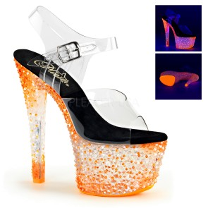 Pleaser - Womens CRYSTALIZE-308PS Platforms (Exotic Dancing)