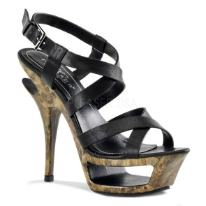 Pleaser Day & Night - Womens DELUXE-636 Shoes