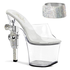 Pleaser - Womens REVOLVER-712 Platforms (Exotic Dancing)
