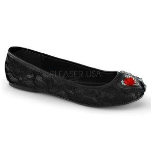 Demonia - Womens STAR-25 Flats