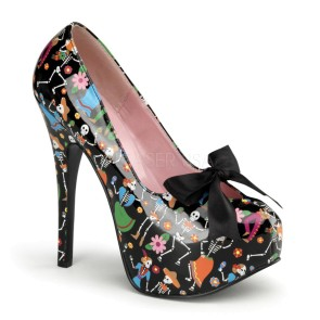 Pin Up Couture - Womens TEEZE-12-4 Platforms