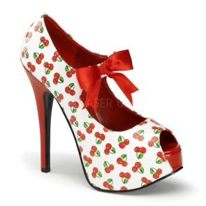 Pin Up Couture - Womens TEEZE-25-3 Platforms