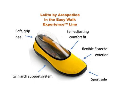 arcopedico easy walk experience line lolita image