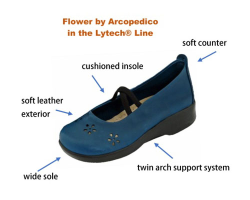 arcopedico lytech line flower image